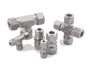 Hastelloy C22 tube fittings
